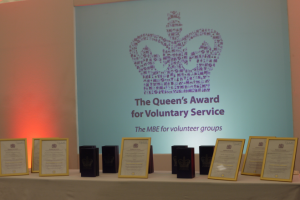 účast na The Queen´ Award for Voluntary Service